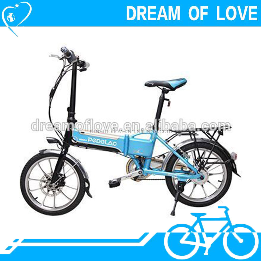 City Leisure Foldable All aluminium Alloy Fast-embedded Lithium Battery Bicycle 18 Inch Wheel Ridetra electric bike