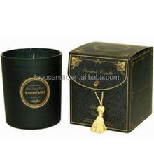 Soy Wax high quality scented candle in glass jar wholesale