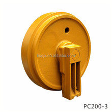 High quality Construction machines Excavator undercarriage parts track idler roller PC200-3