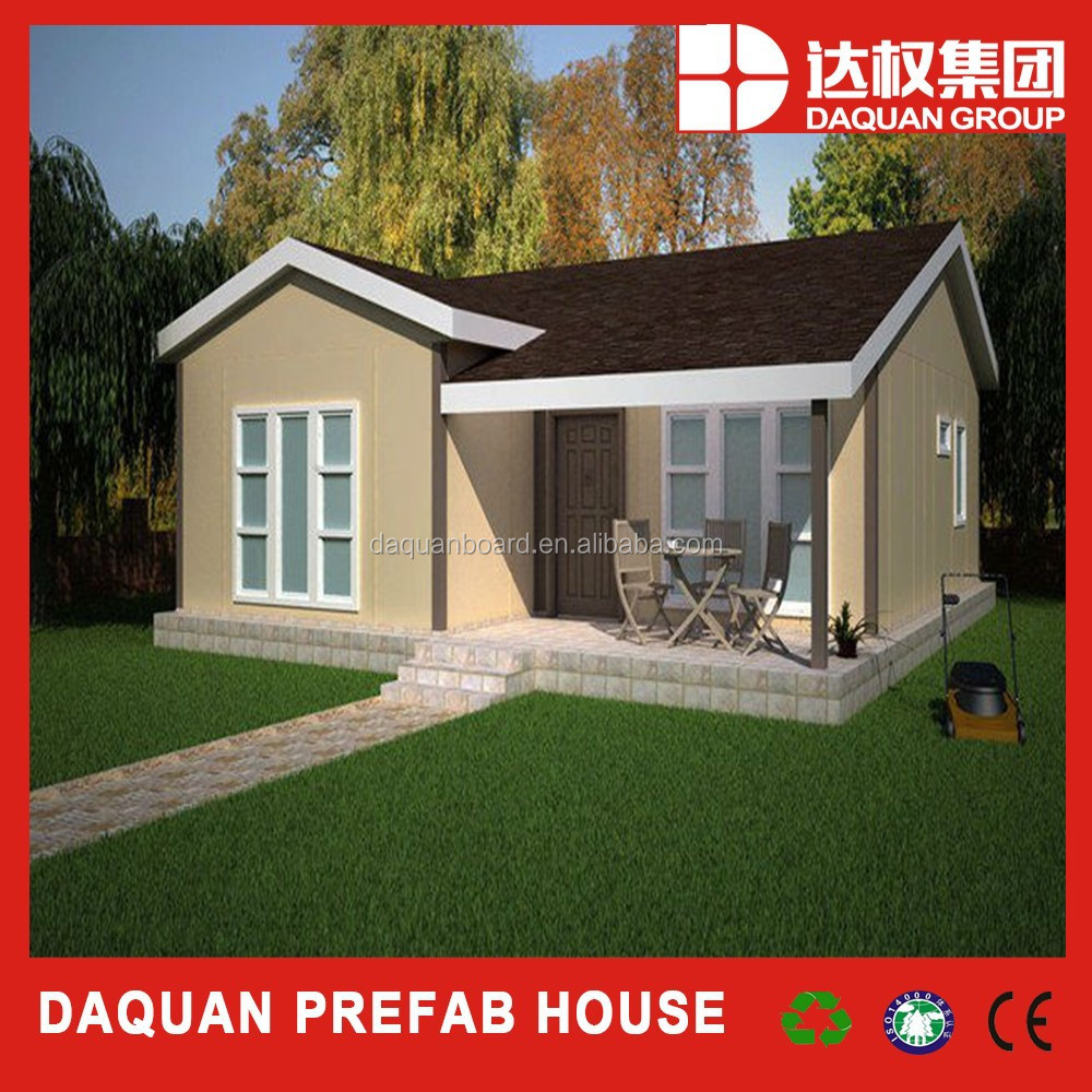 China Luxury Prefab House Building Modern Prefabricated Villas For Sale