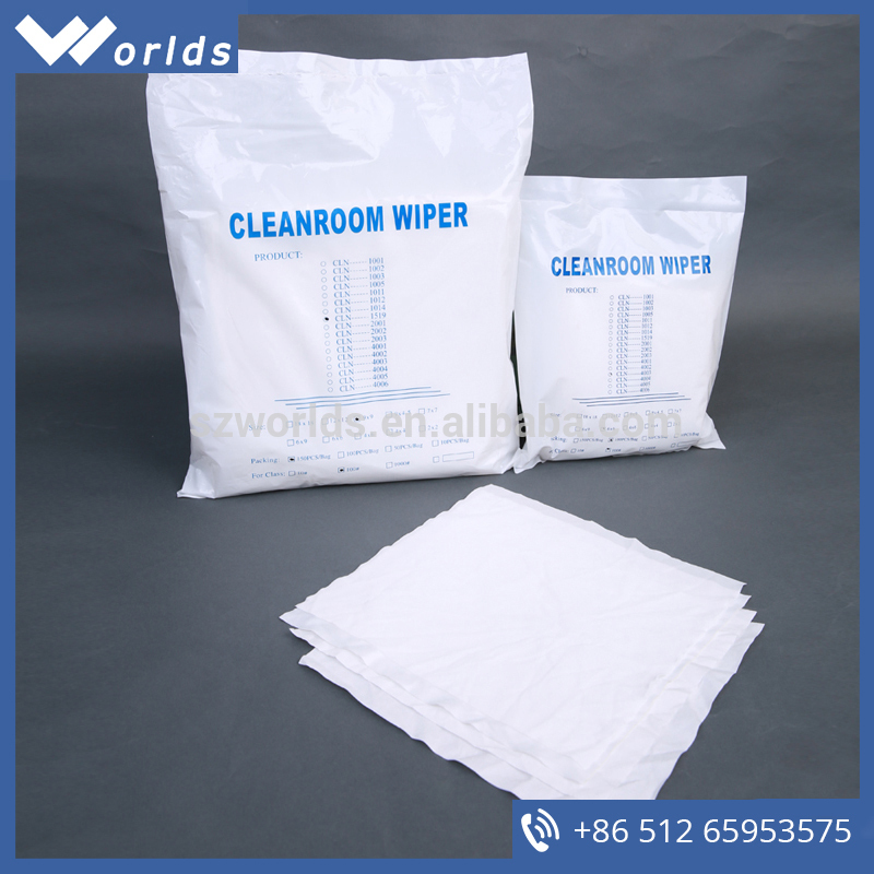 best selling cellulose/polyester cleanroom wipers of China