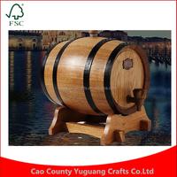 Customiz 3L Oak Liquor Wine Bladder Christmas Gift Bar Hotel Sets Wooden Barrel