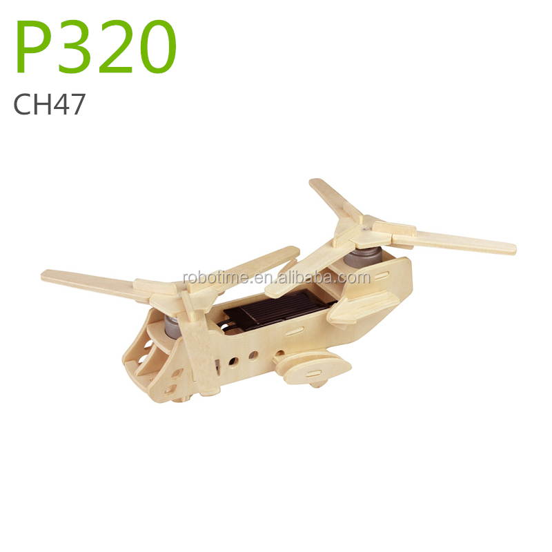 China best selling wooden solar panel plane toys for kids