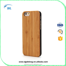 2016 Hot Selling Bamboo Cell Phone Case Customized Blank Wood Case for iphone SE