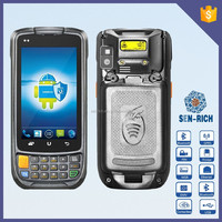 Android Handheld Barcode Scanner PDA Terminal with NFC Reader, Wireless, Camera