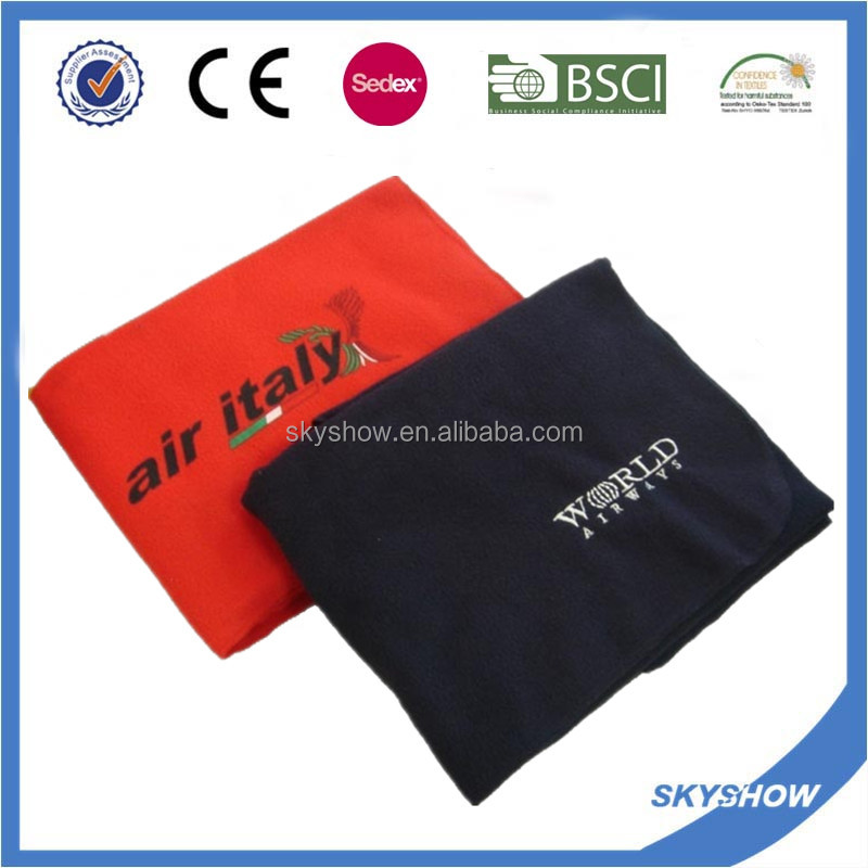 China Wholesale Custom microfiber travel blanket