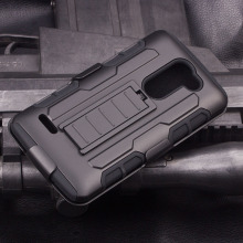(IN STOCK!)New holster mobile phone case cover for LG Optimus Zone 3 VS425 armor case