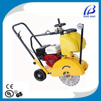 New HXR300-3Y Floor Saw , Road Cutter / Concrete saw Cutting Machine with Three Wheels