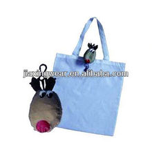 Fashion monkey foldable bag for shopping and promotiom