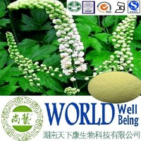 Hot sale Black Cohosh extract/Triterpenes 15%/Triterpene Glycosides/Anti-cancer plant extract