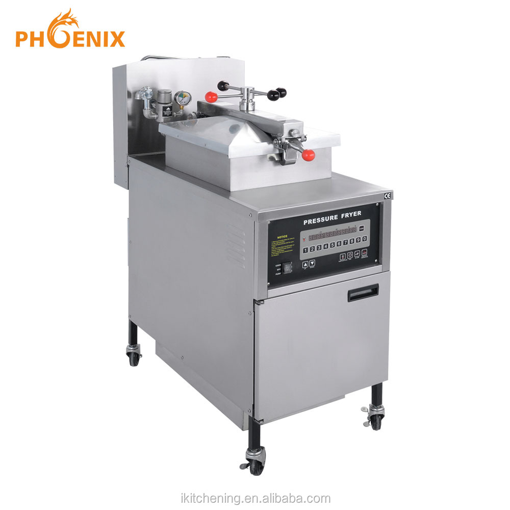 Commercial Chicken Pressure Fryer PFE-600 with Oil Filter Broasted Chicken Machine