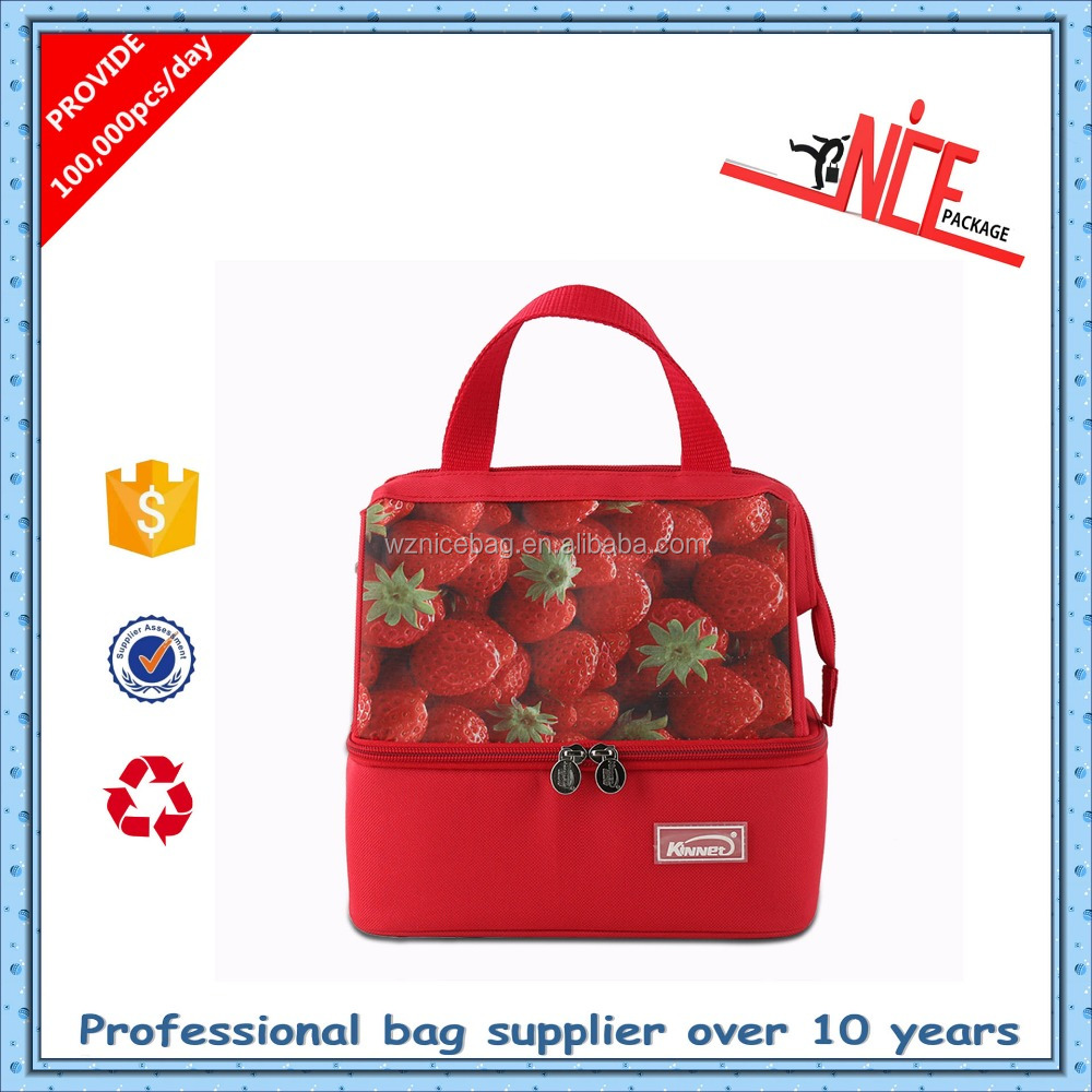 Hot sale insulated food wine cooler bag