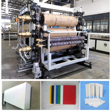 PVC Free Foaming Plate Thin Decoration Board Production Line Plastic Extrusion Machine