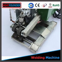 PVC profile welding machine Hot air flex banner welder/welding machine