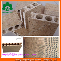 900*2090*33/38mm Hollow Core Chipboard, Tubular Chipboard/Particle Board for Door Core
