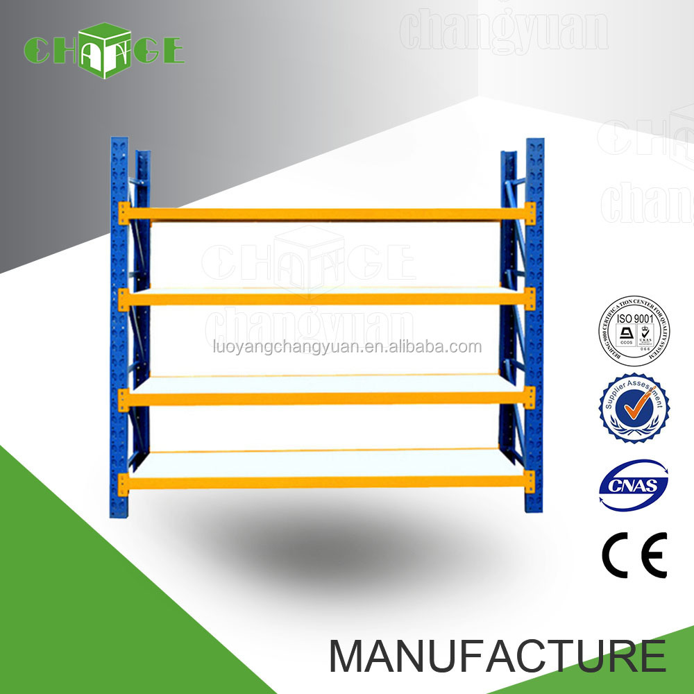 High firmness warehouse 4 tier small metal storage rack