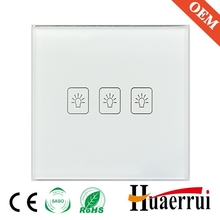 Smart home touch switch with remote control