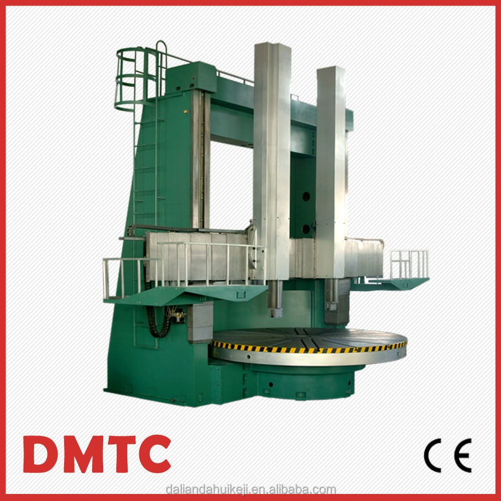 CK5250 CNC Double Column Vertical Lathe Machine with 50 max cutting force of right knife rest