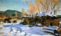 Chinese Painting Art Pictures Famous Landscape Oil Painting