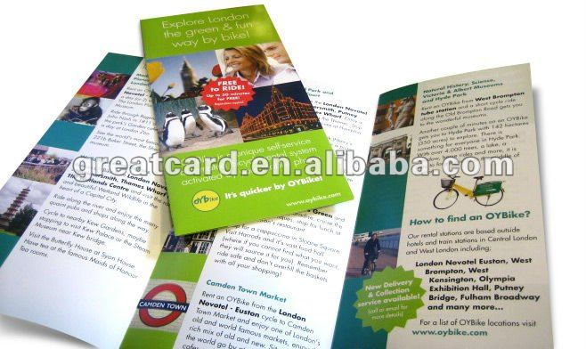 Promotional Tri-fold Paper Brochure