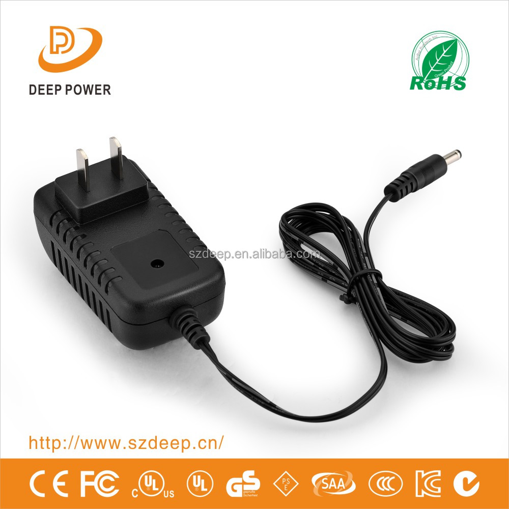 12W Ac Dc Interchange Pulg Power Adapter For Led Light