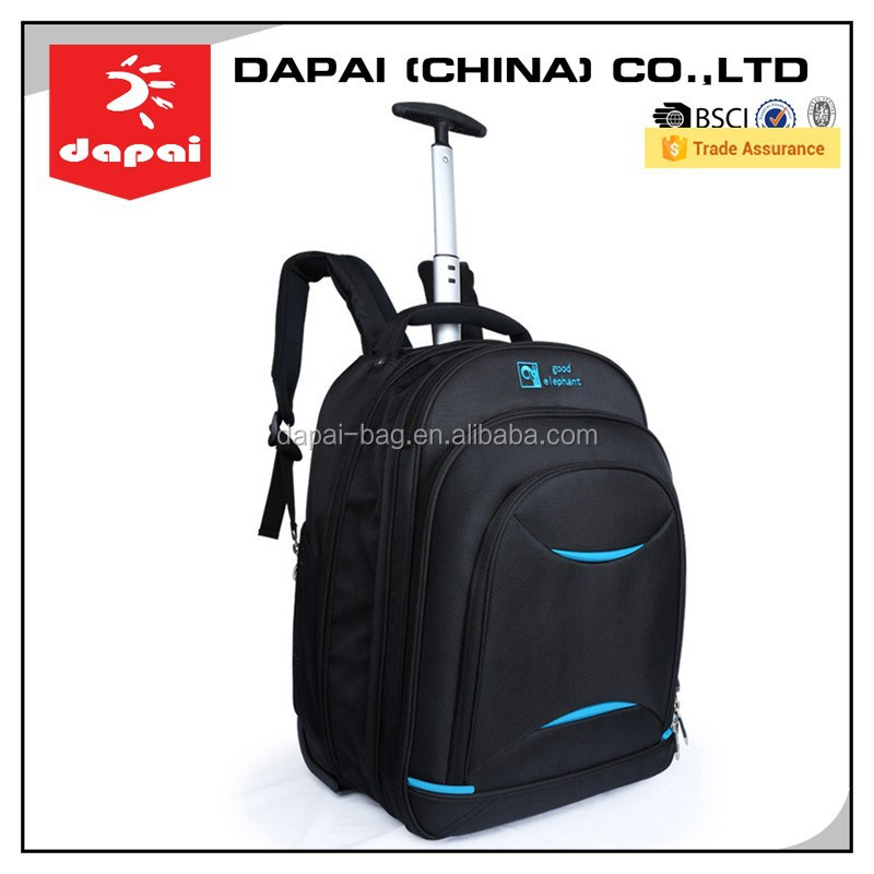 Popular Brand Waterproof Trolley Backpack