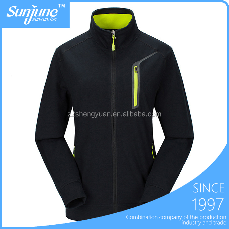 Customized sport wear mens sweatshirt jacket