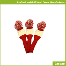 Hot Selling Knitted Woods/Iron Golf Club Head Cover