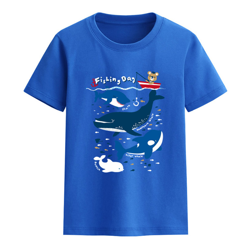 fashion summer style tops clothes free sample Cotton kids boys t-shirt