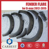 High Quality Fender Flares for D-MAX 2012-2015