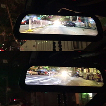 2017 Smart Bus Rearview Mirror,Rearview Mirror Radar Detector for Rain & Night Day