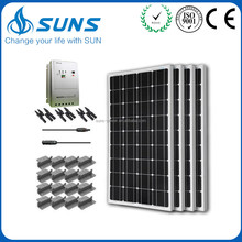 Superior service excellent quality MPPT solar lamp post conversion kit