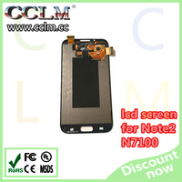 For samsung galaxy note 2 n7100 lcd touch screen, original lcd screen for note2 wholesale price