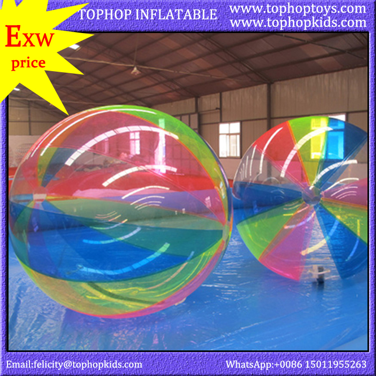 factory price pvc tpu inflatable pool for water walking ball for sale