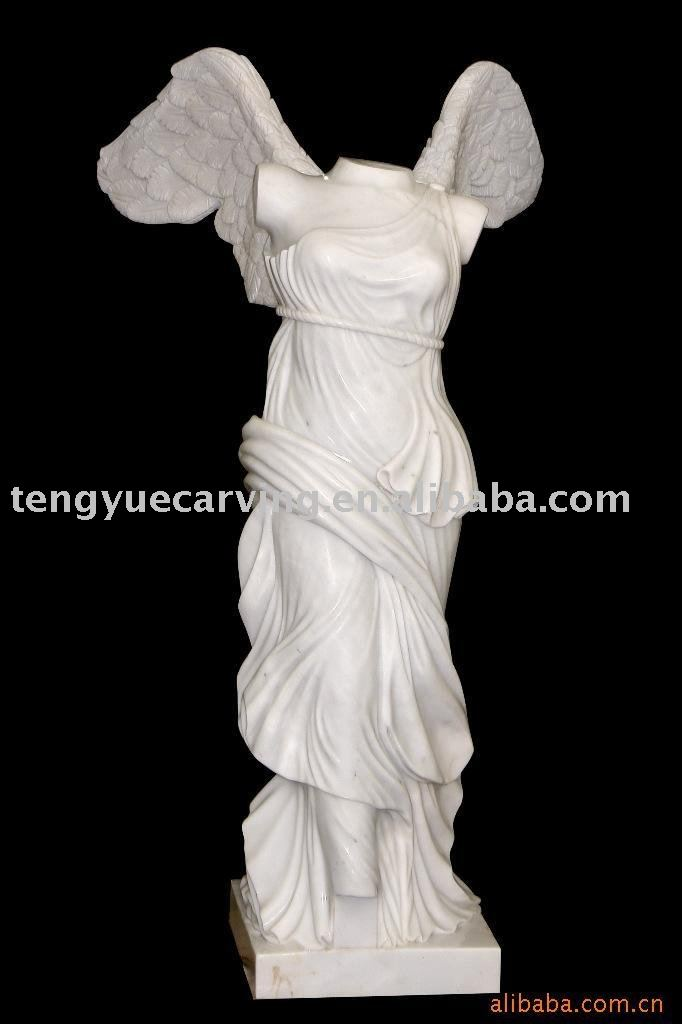 Marble Stone Sculpture Goddess Of Victory