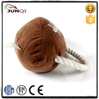 Customization production plush pet supplies chuck it dog ball
