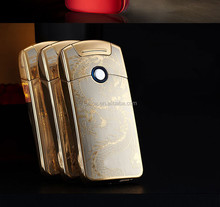 Classic USB Lighter Rechargeable Electronic Lighter business man