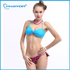 NEW!Popular Double Fabrics Sexy Strappy Knots Back Lady Seamless Bikini Swimwear