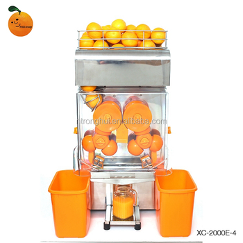 Promotional Beverage Machinery Counter Type Food Processor Orange Juicer