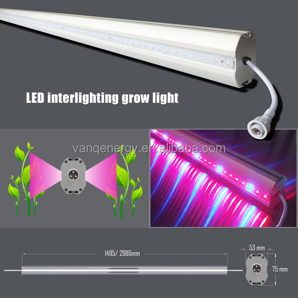 latest technology, agricultural equipment, double side emitting led strip grow lights 1.5m for supplementary