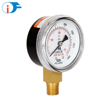 50 mm Use No Oil Oxygen Pressure Gauge with UL Identification