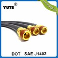YUTE customized dot sae j1402 brake hoses for the air brake system