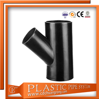 HDPE Syphon Water Drains Pipe Fitting