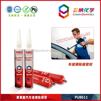 Durable Windshield for Car and Glass Sealer Called PU8611