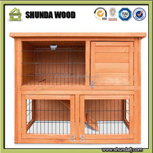 SDR001 china cheap white wooden rabbit hutch