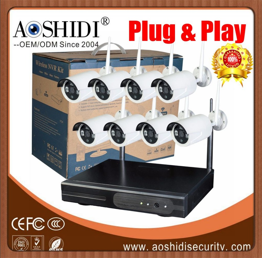 Cheap CCTV Kit Wireless Camera Home System,Wifi outdoor ip cameras kits