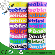 wholesale cheap bracelets & bangles silicone bracelets Wristband hot i love it canada Ireland boobies bands