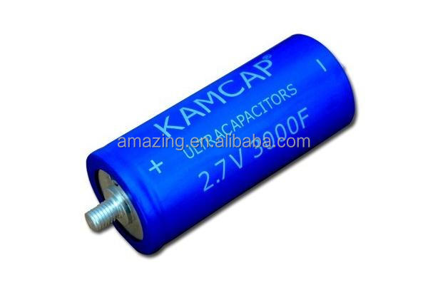 best sell 3000f farad 2.7v super capacitor supercapacitor 60*138mm free samples