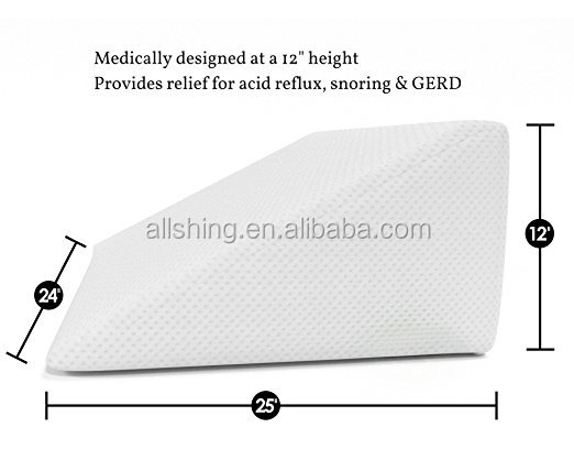 Wholesale Pregnancy Wedge Pillow With High Quality,Rest or Elevation Back Wege Pillow Breathable and Washable Cover