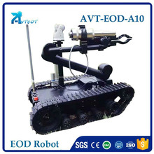 Bomb detection road demining EOD robot security camera